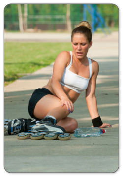 Meniscus injury often occurs during sports.