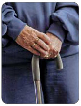 crutch or cane to minimize the load placed on your torn meniscus